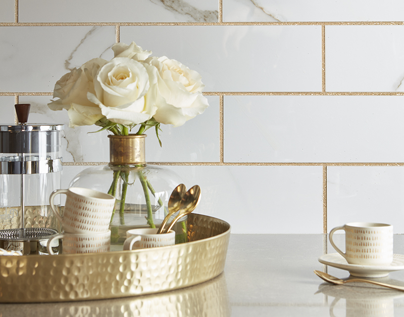Casino with Gold Grout
