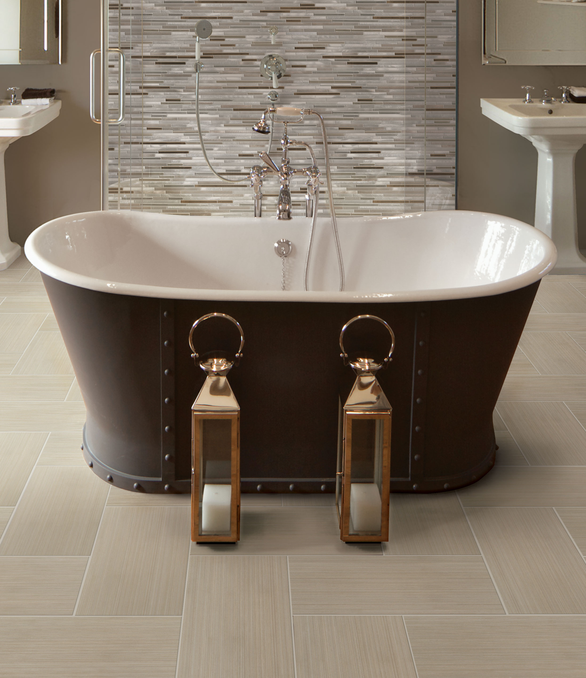 20% off stacked stone tile - select styles
