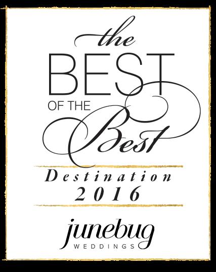 The best of the best destination junebug weddings