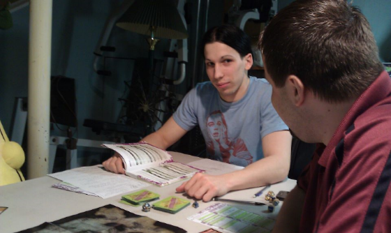 Oh I guess I like Big Bang Theory as well, here I am DMing a small dnd game.