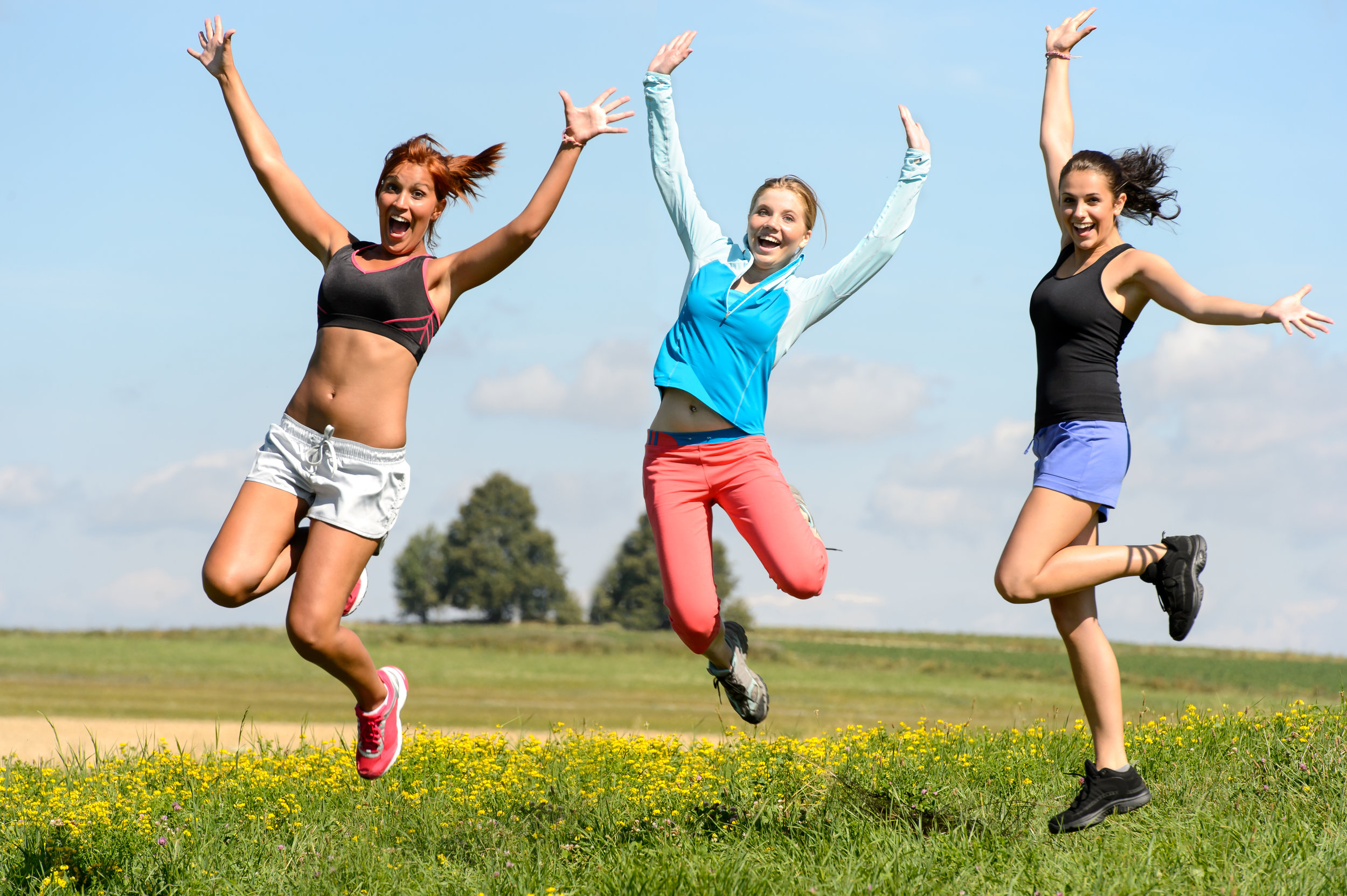 Choosing a workout we enjoy helps us stay motivated. Photo: Graphic Stock