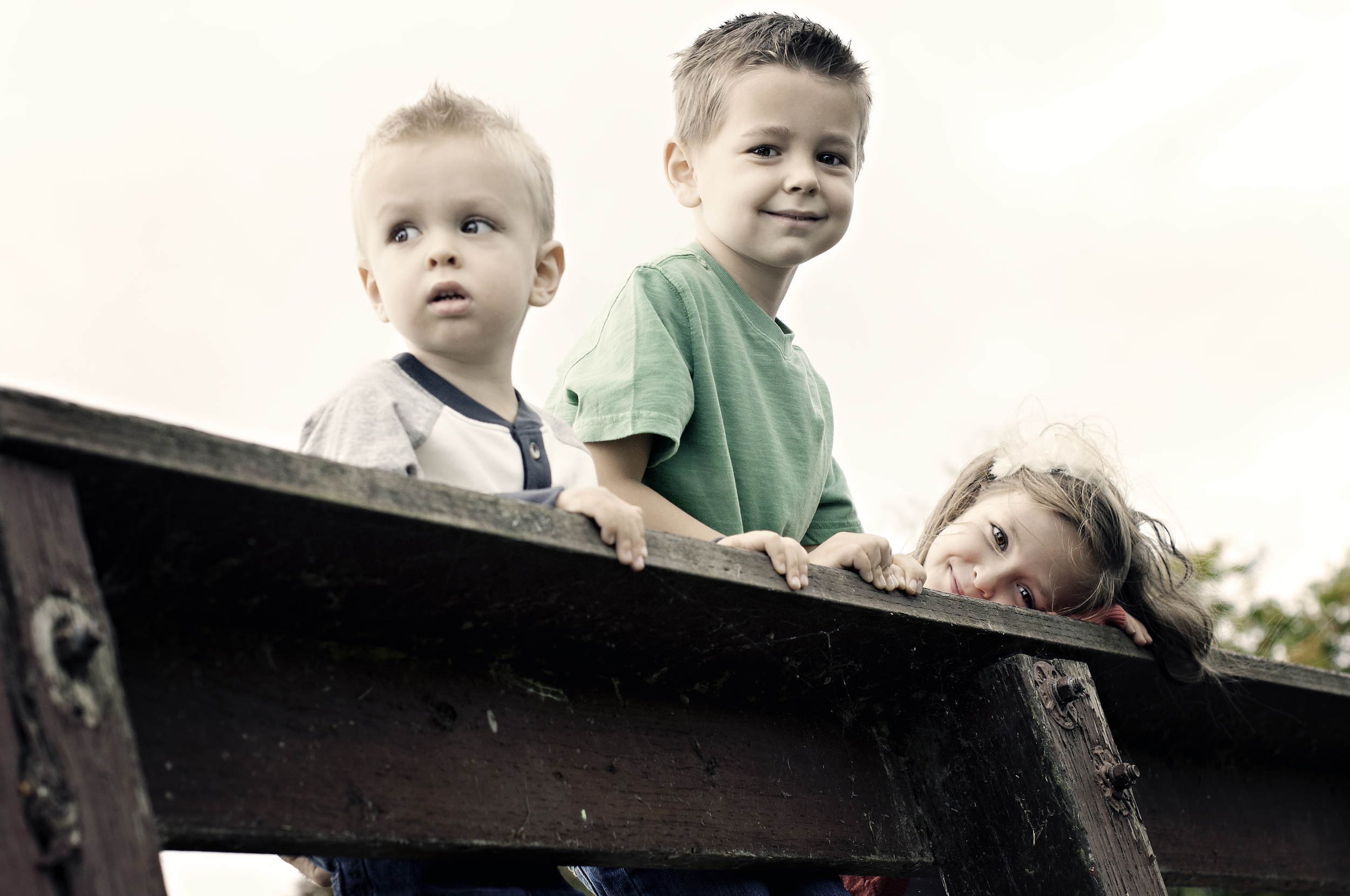 McBride Family-looking over the bridge.jpg