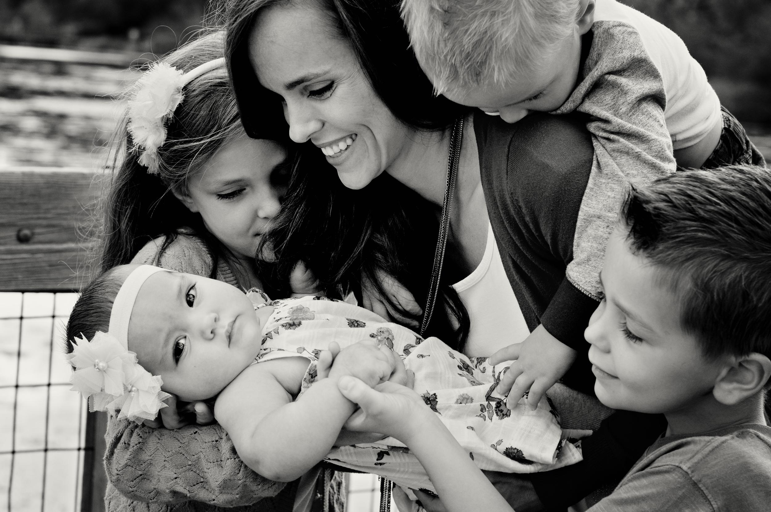 McBride Family-Mom and kids platinum.jpg