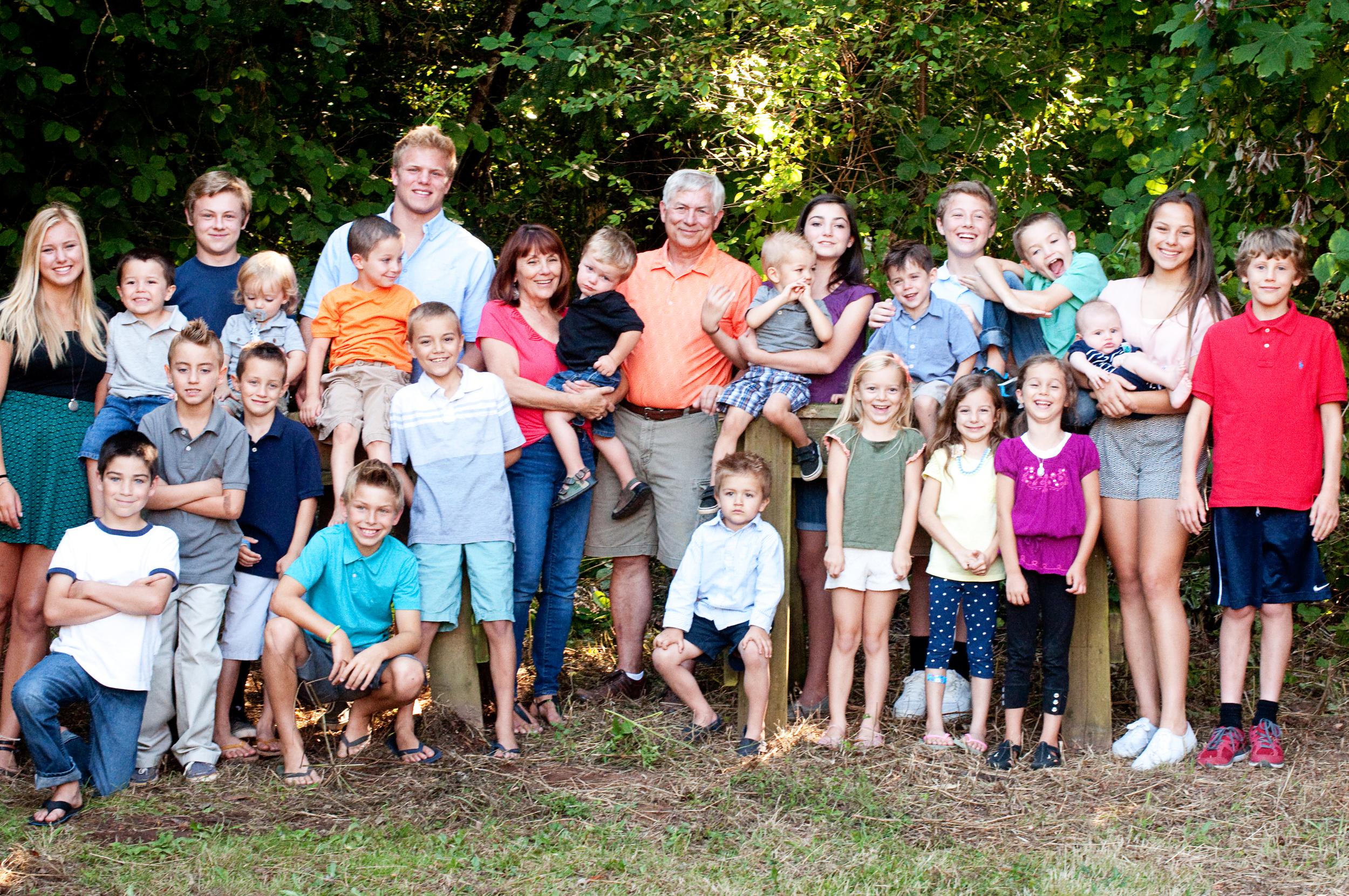 Lowe - Cousins with Grandm and Grandpa.jpg