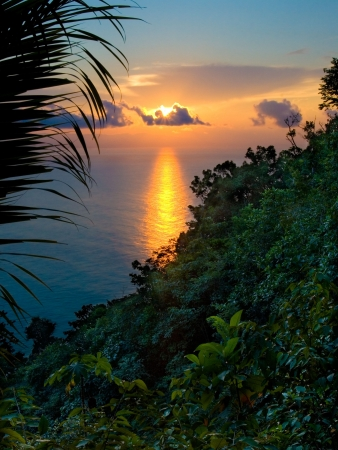 Rainforest Sunrise in Costa Rica