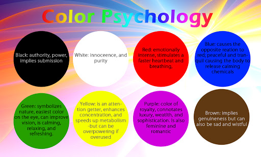color psychology for blog and social media feed