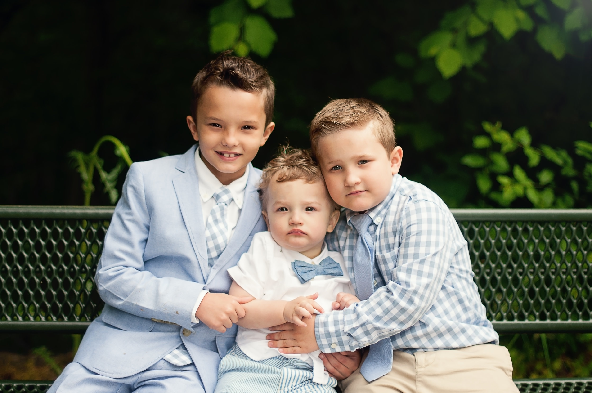 All boy Family