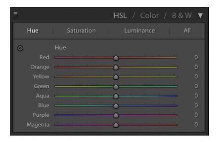 Lightroom HSL Panel Tips
