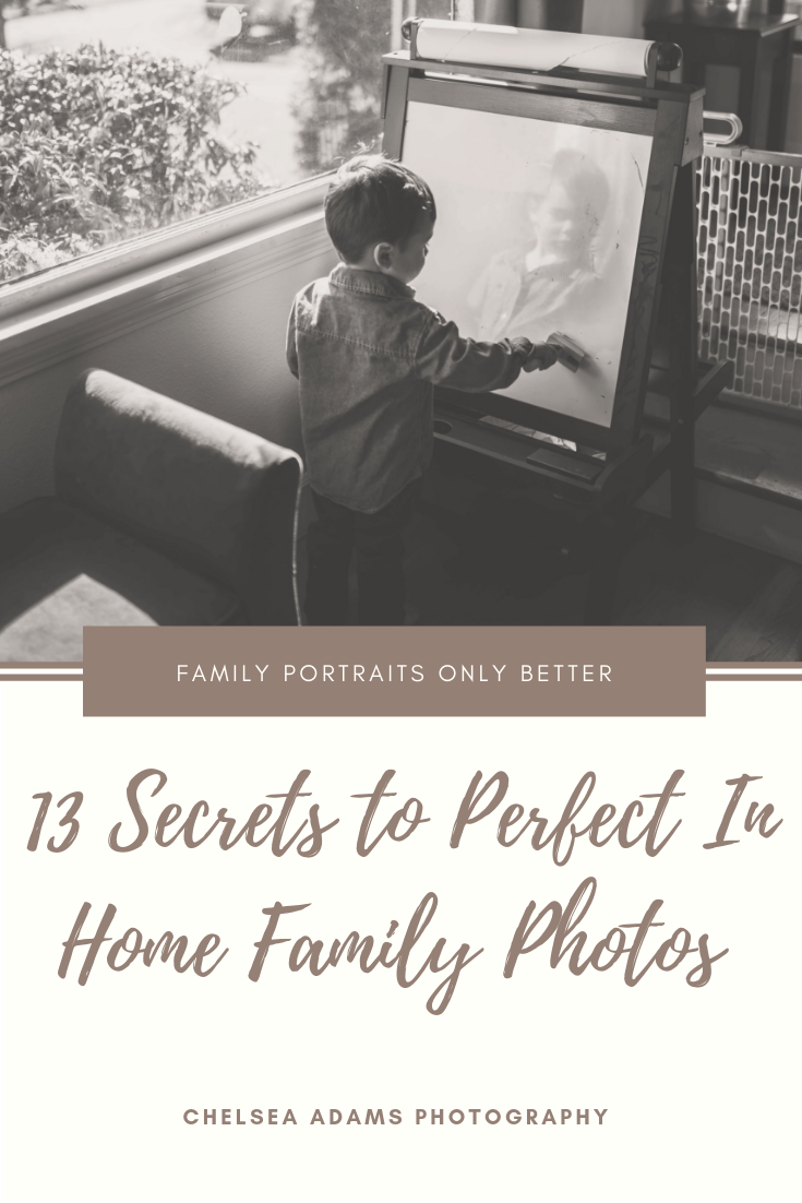 Indoor Family Portraits Tips and Ideas