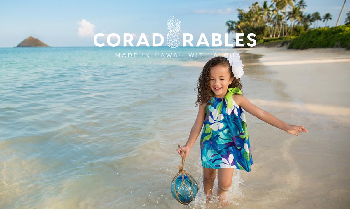 Blue Hawaii ribbon dress model Izzabelle by Coradorables.jpg