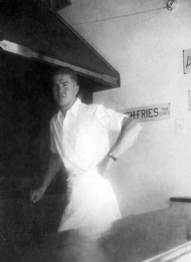 Roy Buckley in 1938.