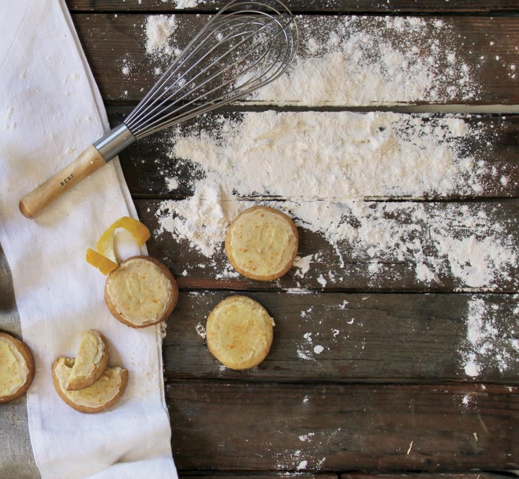 Orange Shortbread Cookies - repertoire