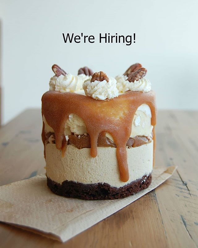 We're expanding our kitchen team! We're looking for -2- kind, hardworking, and enthusiastic people to join our small team as we gear up for an extremely busy season! The position is full-time and /not/ seasonal. If you would like to apply, please email a cover letter and resume to Kristen at info@honeycombcreamery.com. For further details on the position, please email Kristen. 💕
