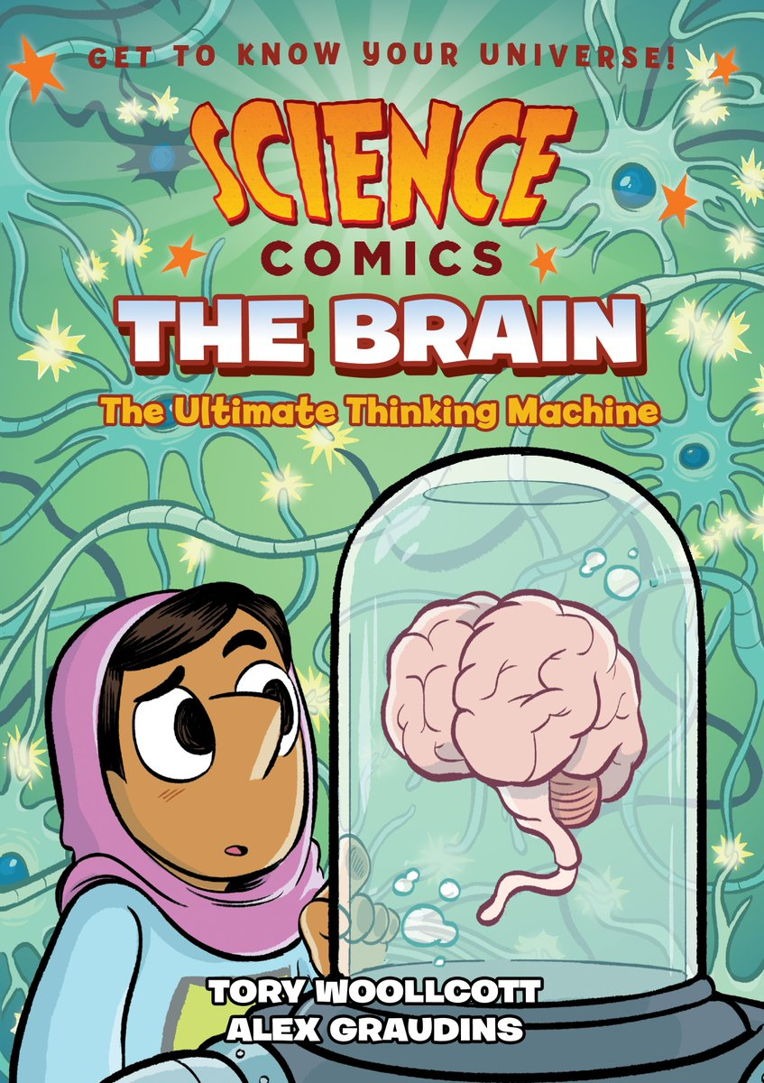 SCIENCE COMICS: BRAINS!