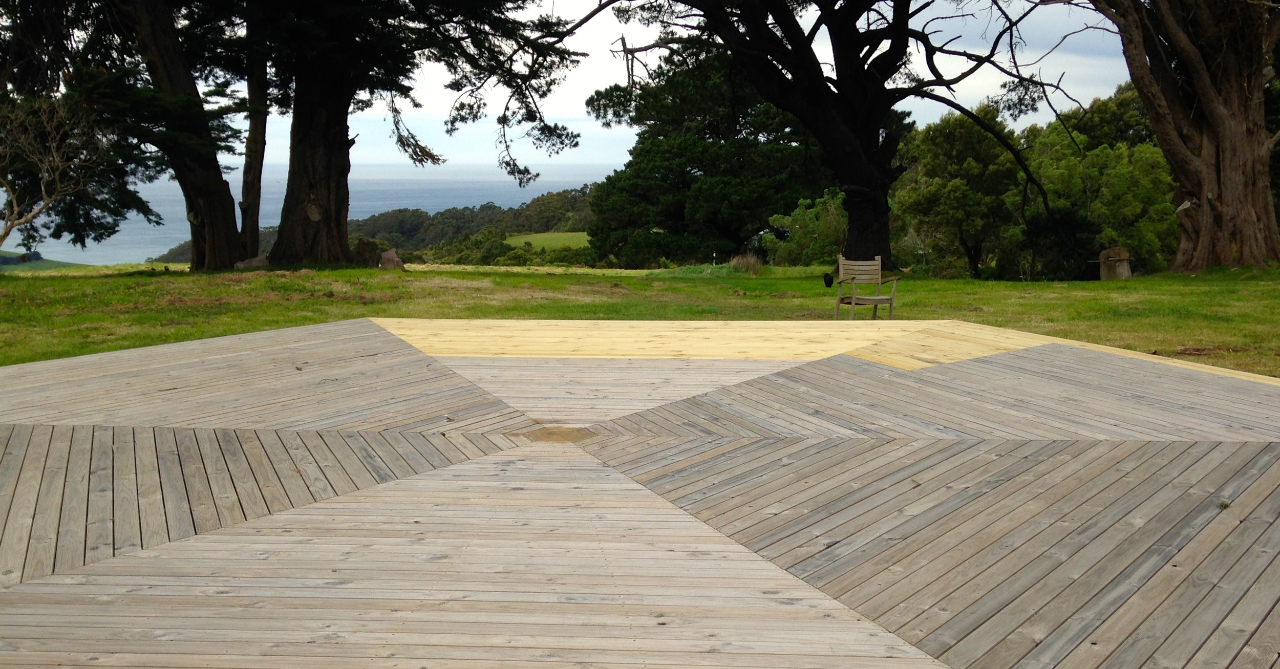 The Yoga Deck at Crow's Nest