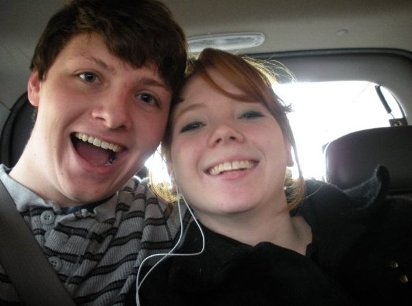 2009, our first road trip together. We went to Kentucky with my family.