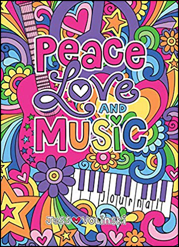 Peace, Love & Music Guided Journal