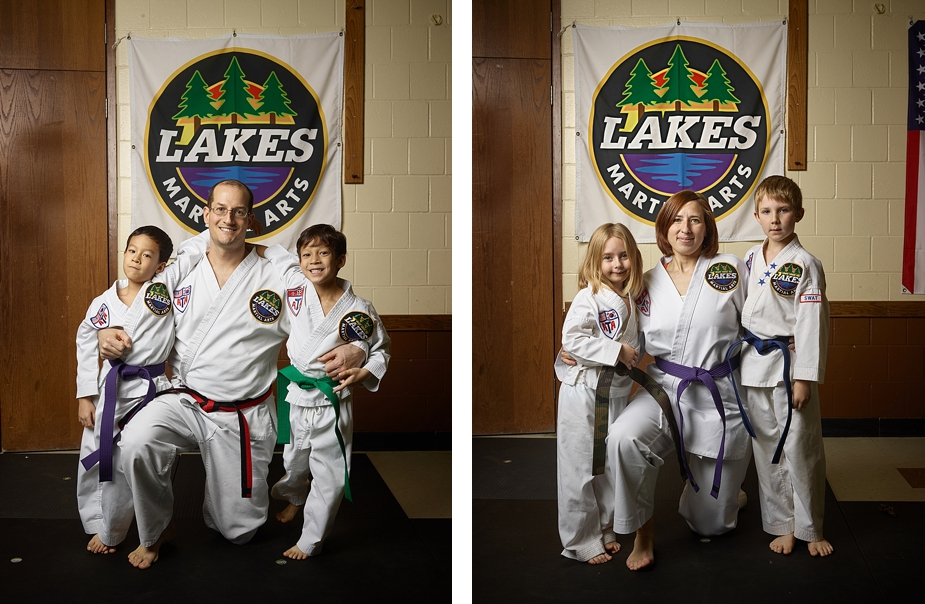 Strong parents make wonderful examples for their kids, making communities stronger. Clay and Jessica are wonderful role models of excellence for all Lakes Martial Arts students.