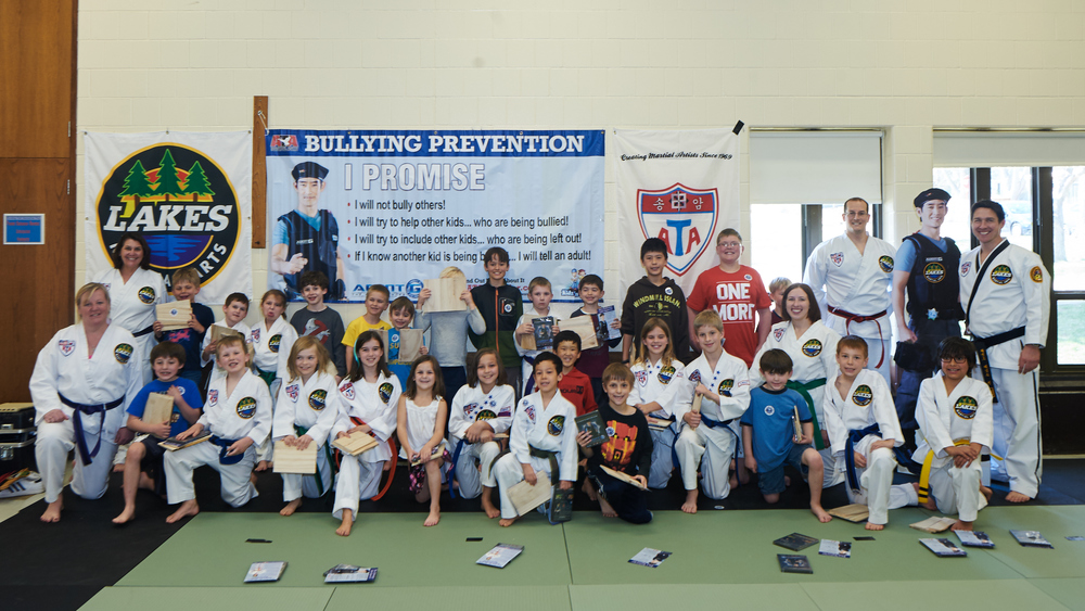 Over 150 students have participated in the Bully Prevention Seminars at Lakes Martial Arts since April 2015 plus over 500 kids through the Minneapolis Safety Camp held each summer. Join us to put an end to bullying!
