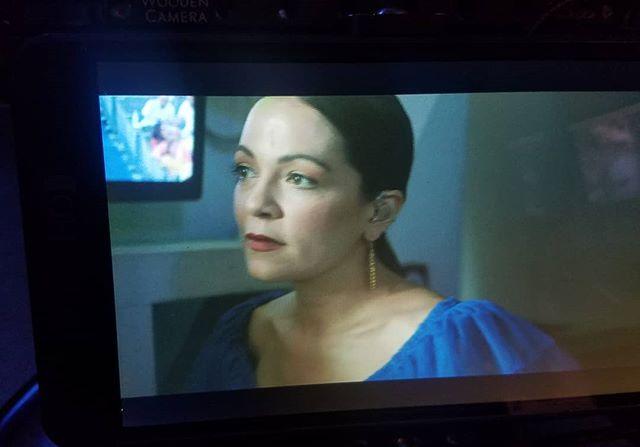 The incredibly talented and beautiful @natalialafourcade backstage at the Bowl on Sunday 💙  Shot by @ludovicaisidori  #work #womeninfilm #backstage #veracruzana #summeratthebowl