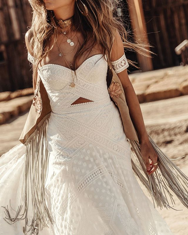 silly excited for these beauts x so many more to arrive late fall. @ruedeseinebridal crushes the bohemian game x raise the bar with every👏single👏collection👏