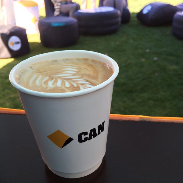 Custom printed coffee cups, yes we can !