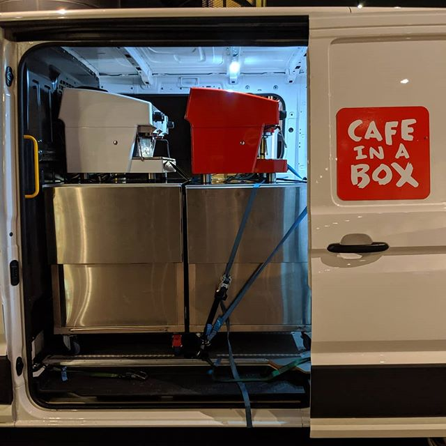 Bump out time !  Four carts and eight of our team smashed out hundreds of coffees this week at Royal Randwick Race Course. - - - #coffee #vw #crafter #coffeemaker #coffee_inst #coffeeholic #coffee☕ #coffees #coffeetime☕  #coffeecoffeecoffee #tea #corporateevents #cafeinabox #mobilebarista #coffeecarthire