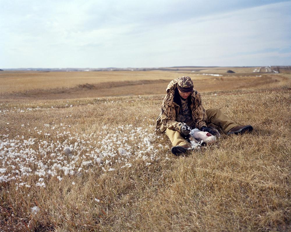Brian Lesteberg  - Dad Fiedl Dressing a Goose