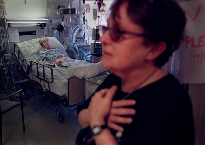 Hours later, Saul is recovering after a successful heart transplant at the age of 72. He lived for another 12 years.