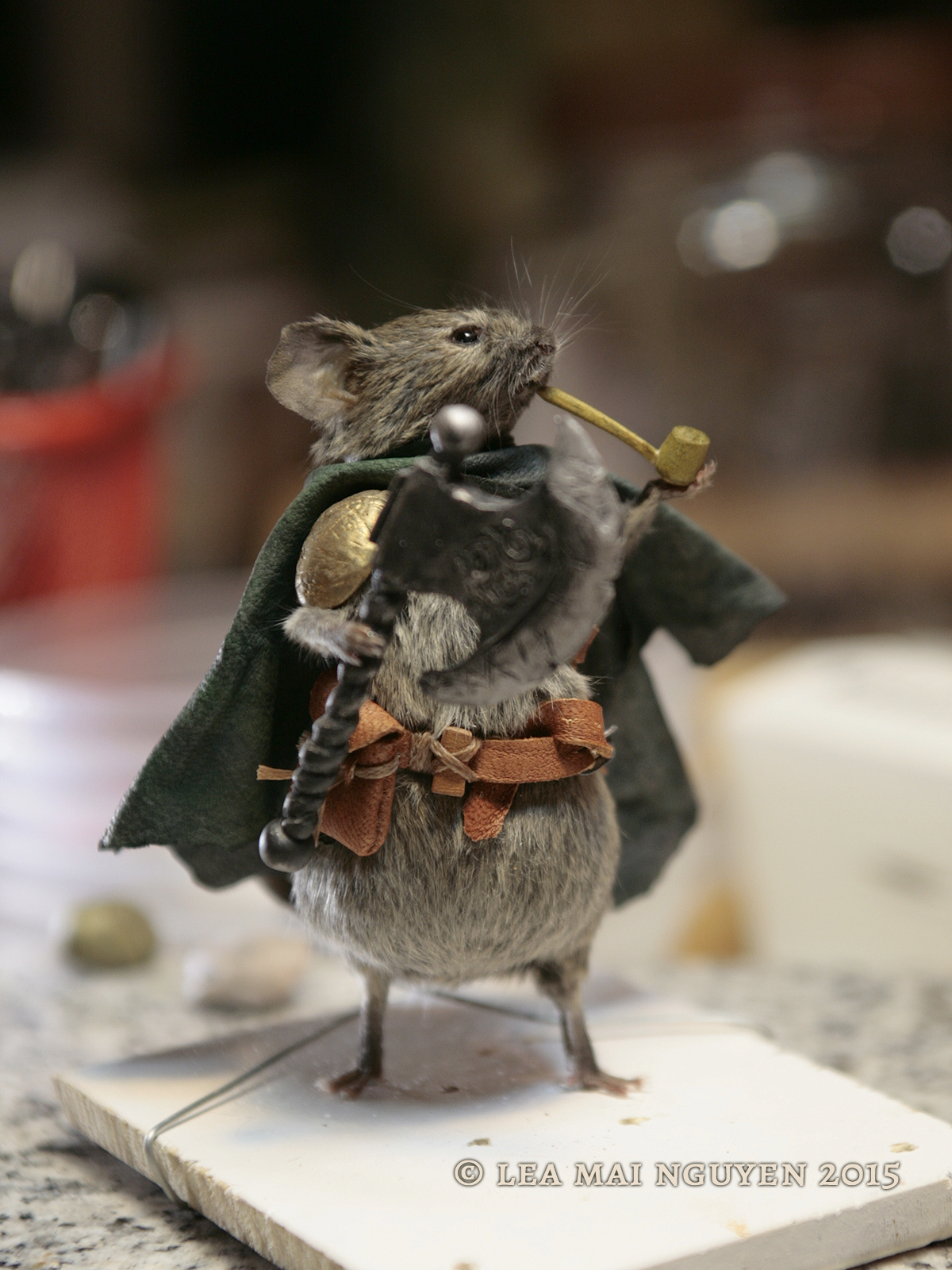 blackAxeMouseTaxidermy