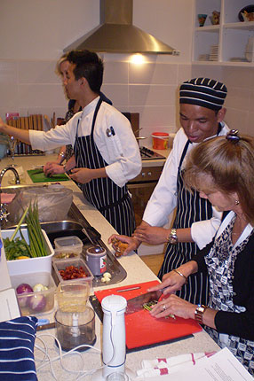 Learn to cook Thai Food in your own home