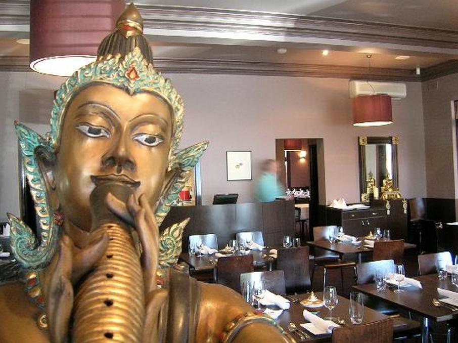 The Buddha Room at Paladarr Restaurant Alphington Melbourne