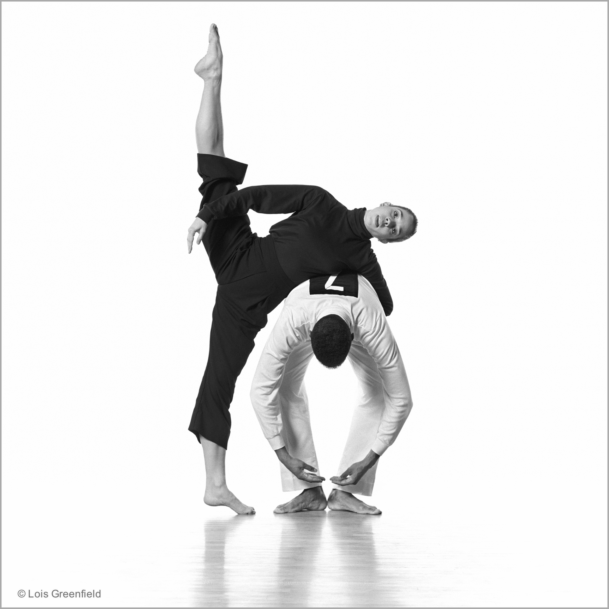 "Larissa McGoldrick and Michael Cole, ""August Pace"", MERCE CUNNINGHAM DANCE COMPANY"