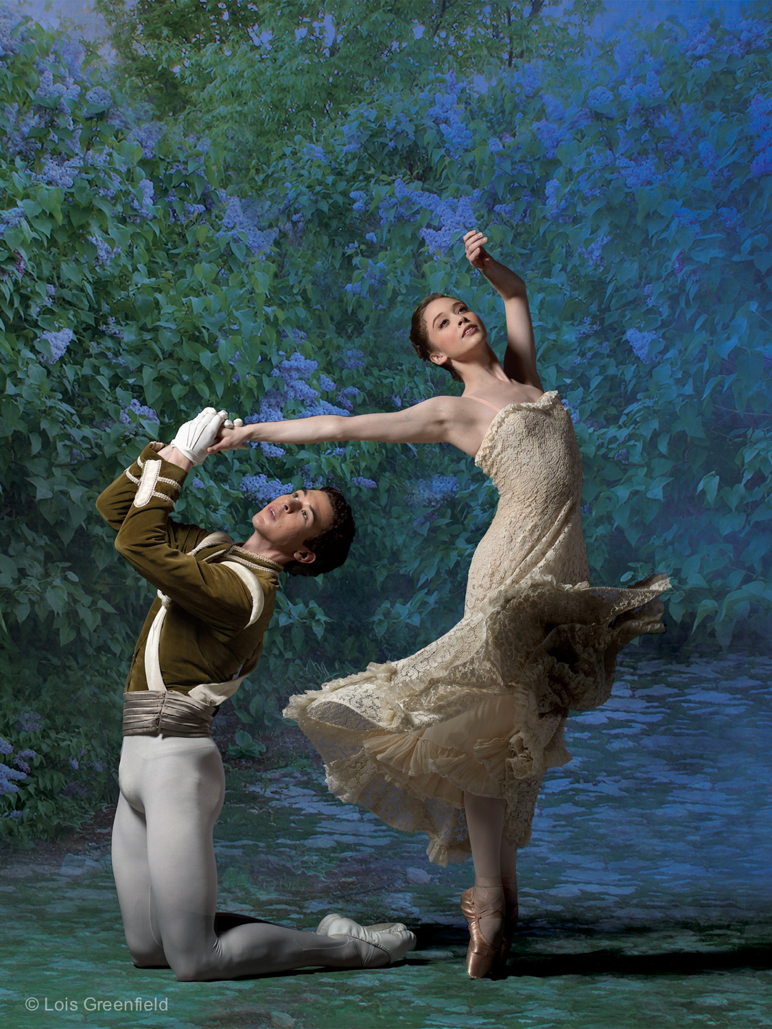 "Melissa Thomas and Thomas Forster, ""Lilac Garden"" AMERICAN BALLET THEATRE"