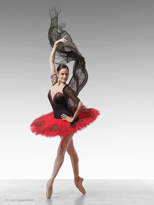 Melanie Hamrick of the AMERICAN BALLET THEATRE