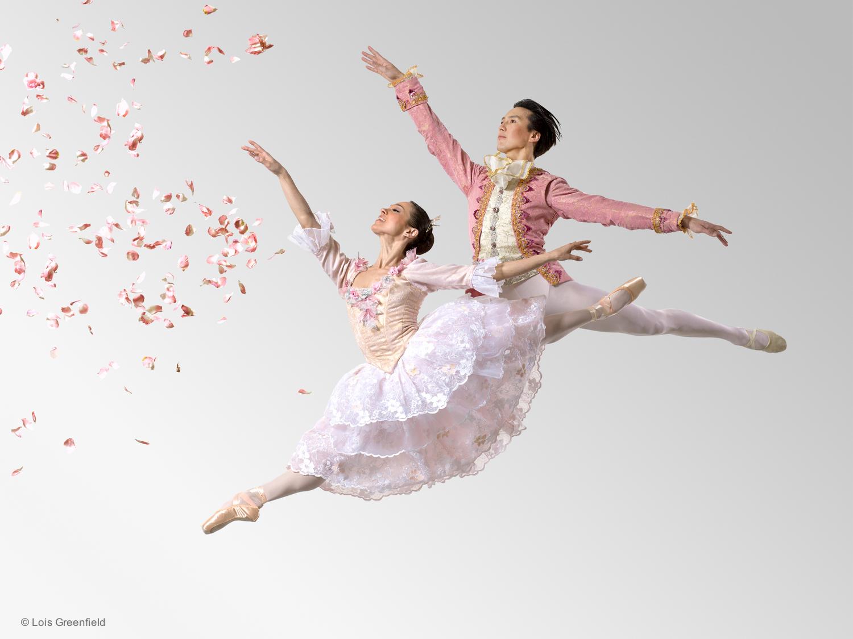 """Christine Schwaner and Nurlan Abougaliev,  """"Cinderella"""", PITTSBURGH BALLET THEATRE"""
