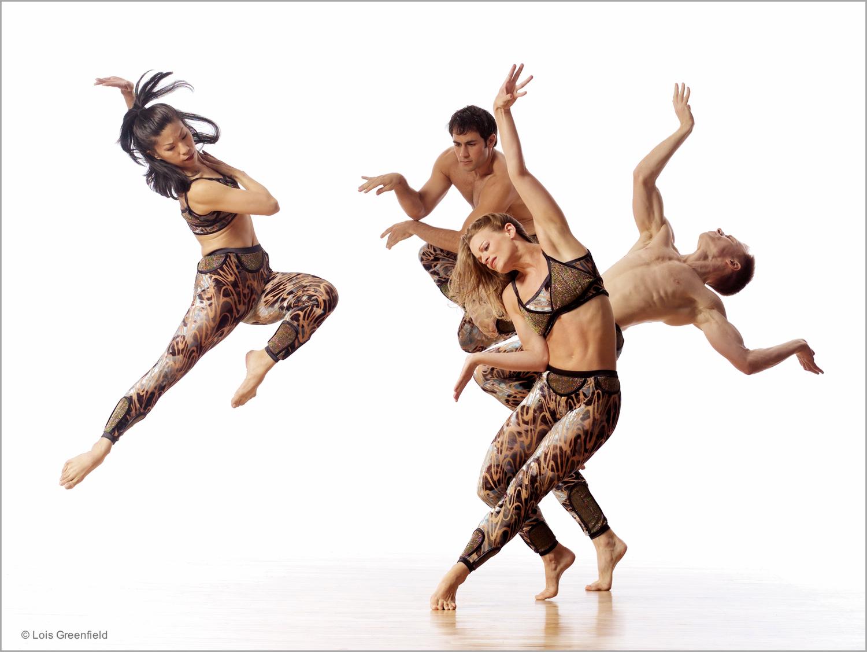 "Lisa Viola, Robert Kleinendorst, Annmaria Mazzini, Michael Trusnovec, ""Dante Variations"", PAUL TAYLOR DANCE COMPANY"