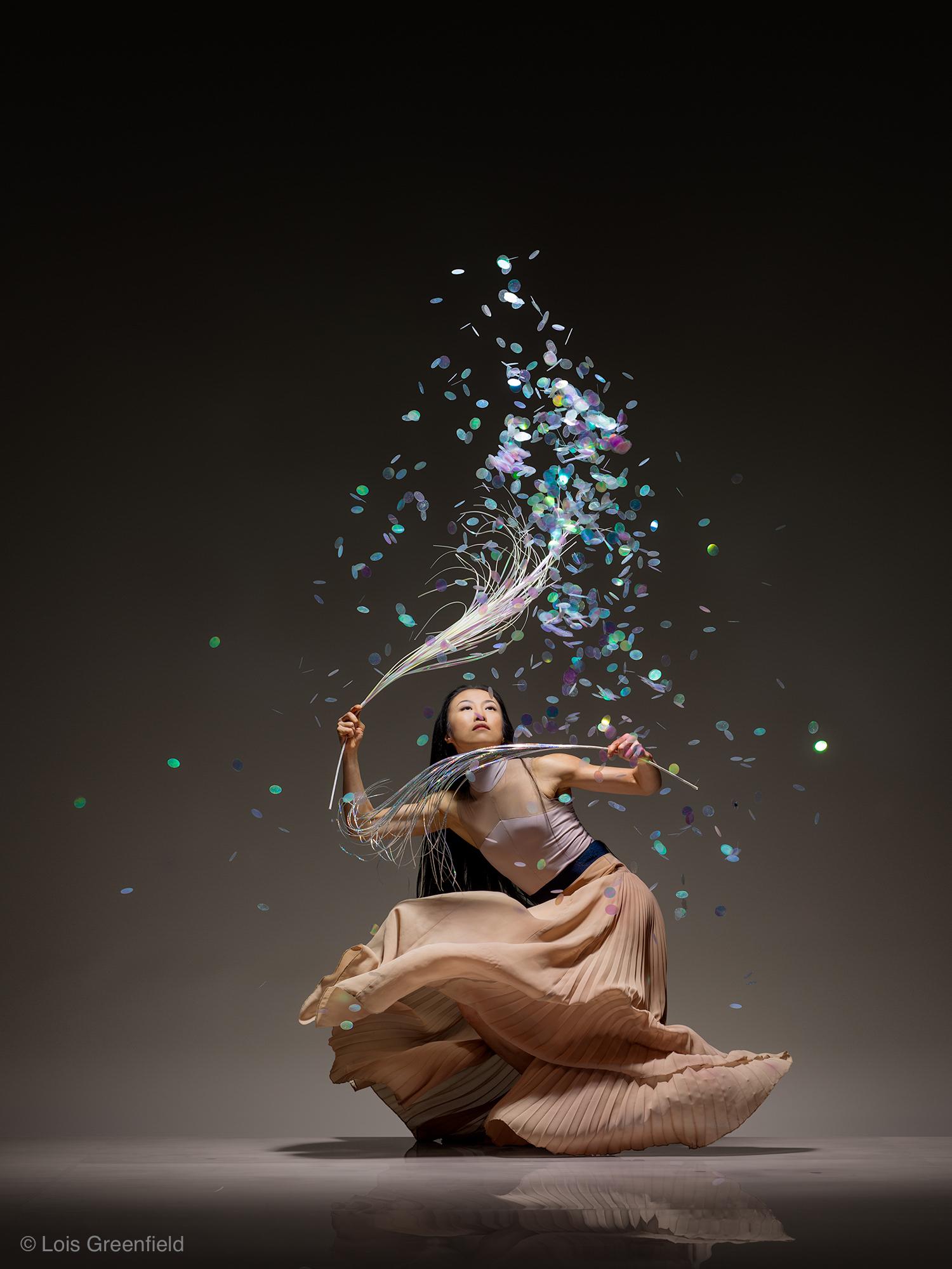 PEIJU CHIEN-POTT OF THE MARTHA GRAHAM DANCE COMPANY