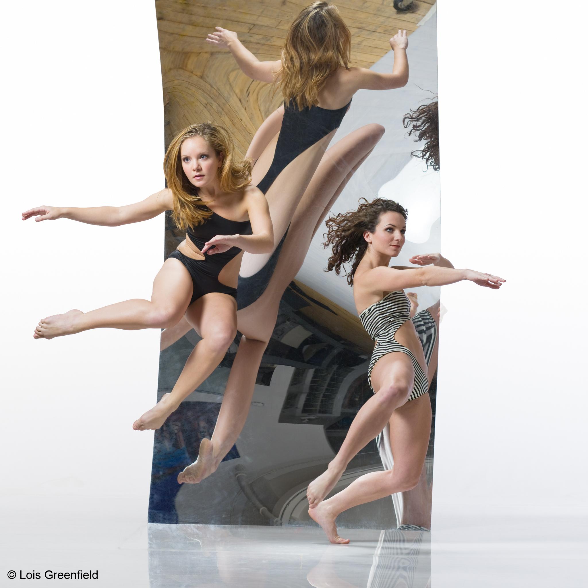 Shannon MacDowell and Kimberly Lyons of Amy Marshall Dance Company