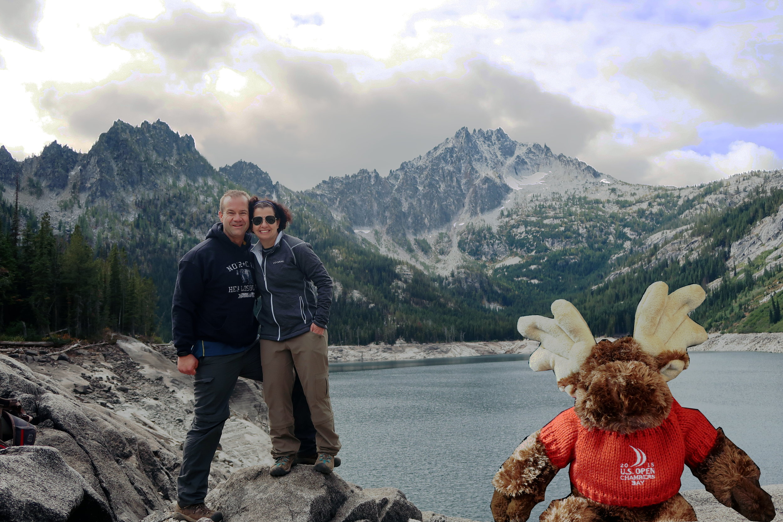 Marc & Jill and Moose at Upper Snow Lake.jpg