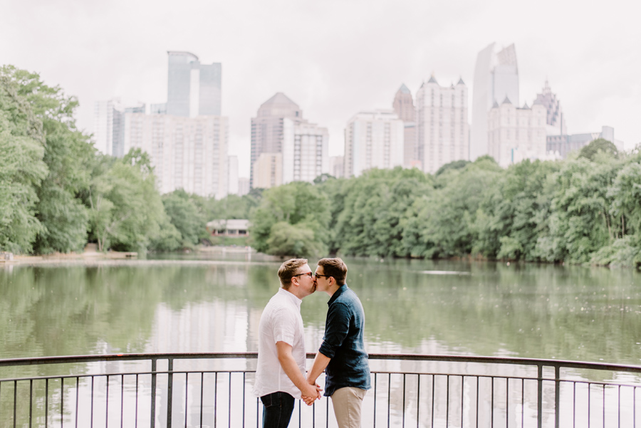 KrisandraEvans.com | Atlanta Engagement Photographer | Piedmont Park