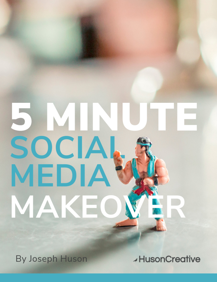 In 5 minutes you'll improve your social media - Download the free pdf today!