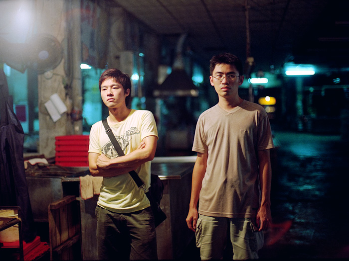 HUAN DAO 環島 - 2010 - HD, 20 minTwo brothers attempt to reconnect in the Taiwan countryside after several years apart.
