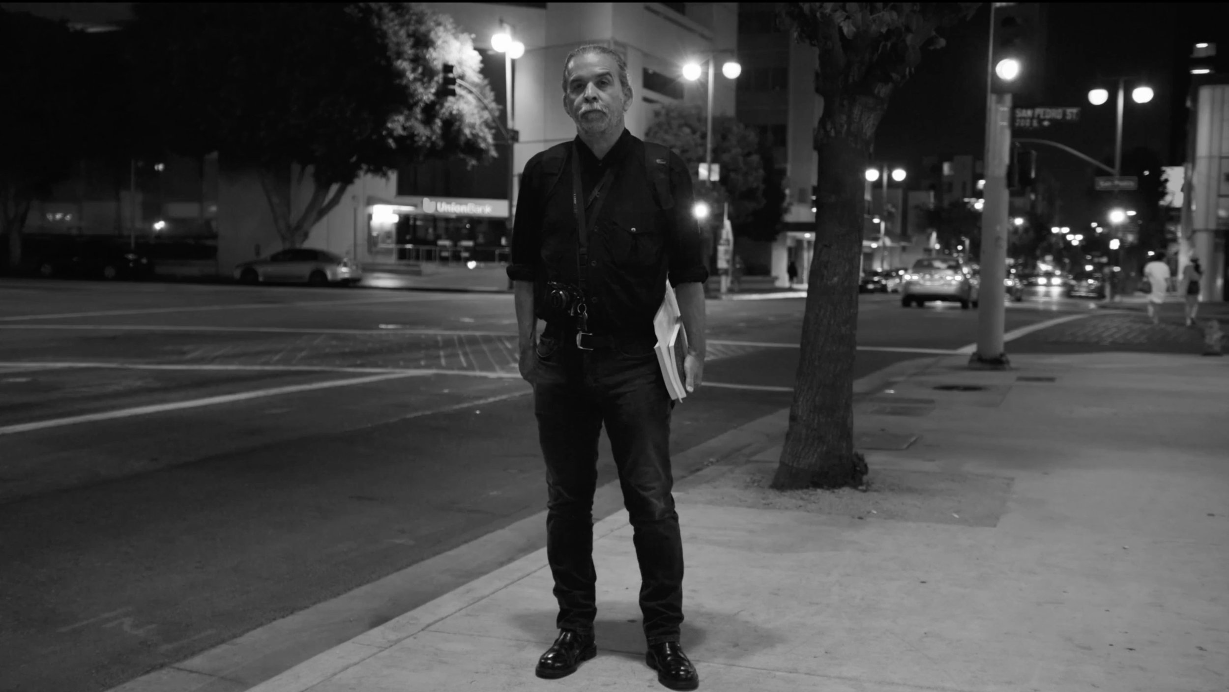 """ARTBOUND: Harry Gamboa Jr. - 2017 - HD, 10 minProfile on L.A. Chicano artist and photographer, Harry Gamboa Jr. and his portrait series, """"Chicano Male Unbonded.""""Produced for KCET & The Autry Museum."""