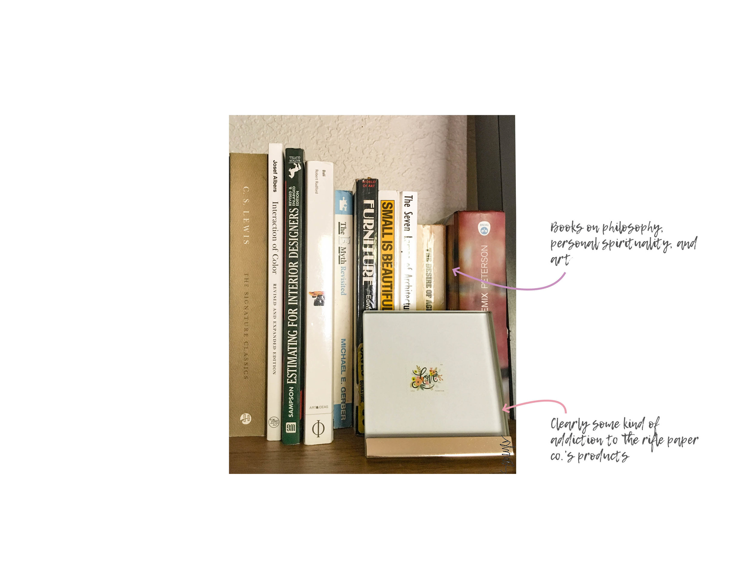 I've got books on books. Click on photo to enlarge.