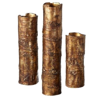 Antique Gold Branch Vase set:3.jpg