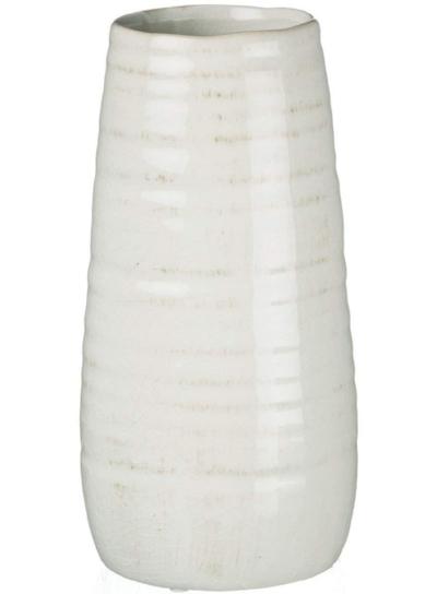 Sullivans Ceramic Vase, 11.5 x 5 Inches, Distressed White (CM2496).jpeg