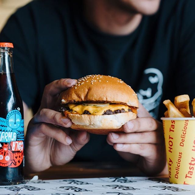 Simple is always best! We have created what we think is the perfect burger, come in and let us know what you think 🤤