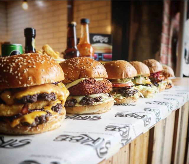 How is the full line up of killer burgers! 📷- @kingjase82