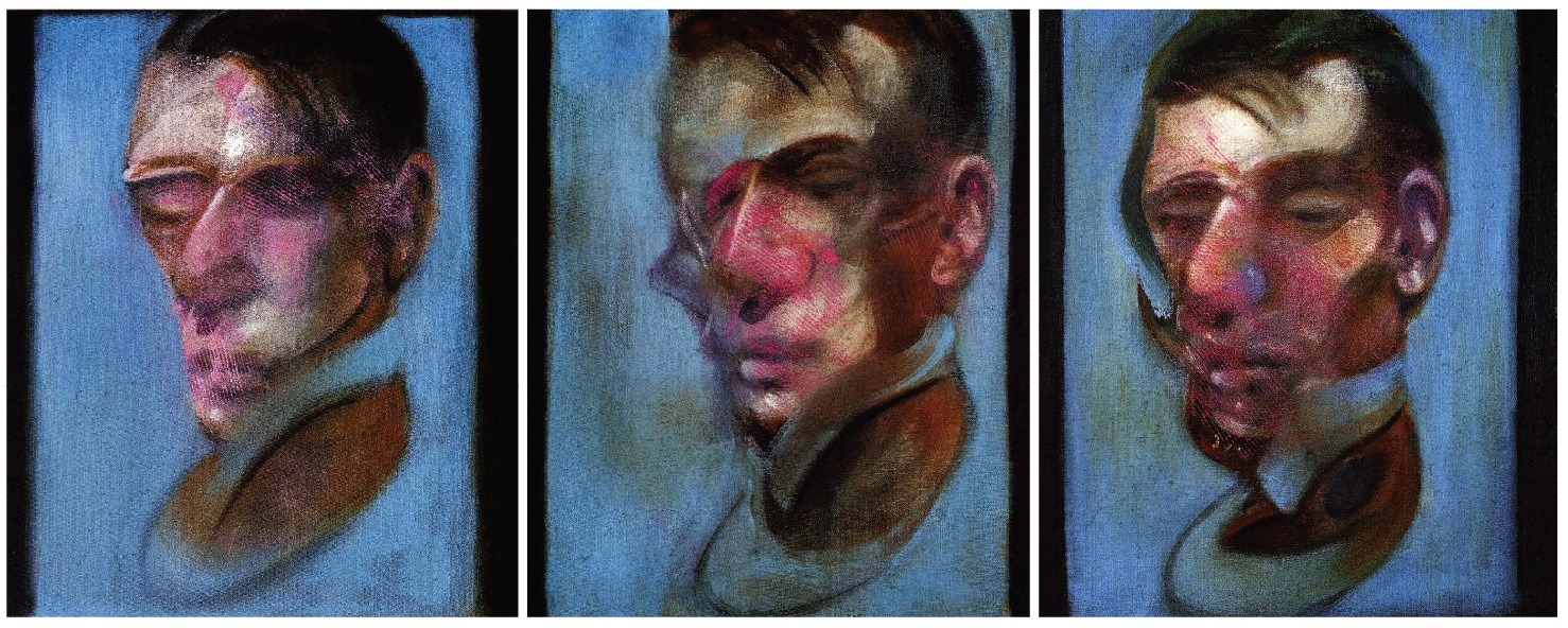 Francis Bacon,  Three Studies for a Self-Portrait , 1980